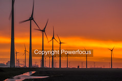 Morning Energy (powerfocusfotografie) Tags: energy windturbine backlight silhouette dusk action running sun sunset evening outdoors landscape groningen holland henk nikond90 powerfocusfotografie