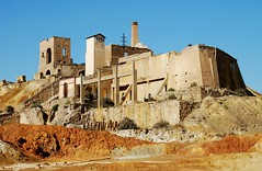 mines 3 L (Mark Stocks ~ Vistas de Murcia) Tags: mazarron murcia vistasdemurcia industry mines mining landscape costacalida outside old red orange industrial earth españa spain mazarrón ruin remains abandoned environment destruction mankind nature empty