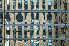 Architectural Abstract (20190112-DSC04060) (Michael.Lee.Pics.NYC) Tags: newyork architecture abstract reflection distortion mirror symmetry glass windows curtainwall sony a7rm2 fe70300mmg