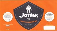 Netherlands - Brouwerij Jotner (Groningen) (cigpack.at) Tags: niederlande netherlands holland brouwerijjotner groningen jotnerpils bier beer brauerei brewery label etikett bierflasche bieretikett flaschenetikett