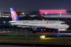 N340NB, Delta Air Lines, Airbus A319-114, KATL, January 2019 (a2md88) Tags: