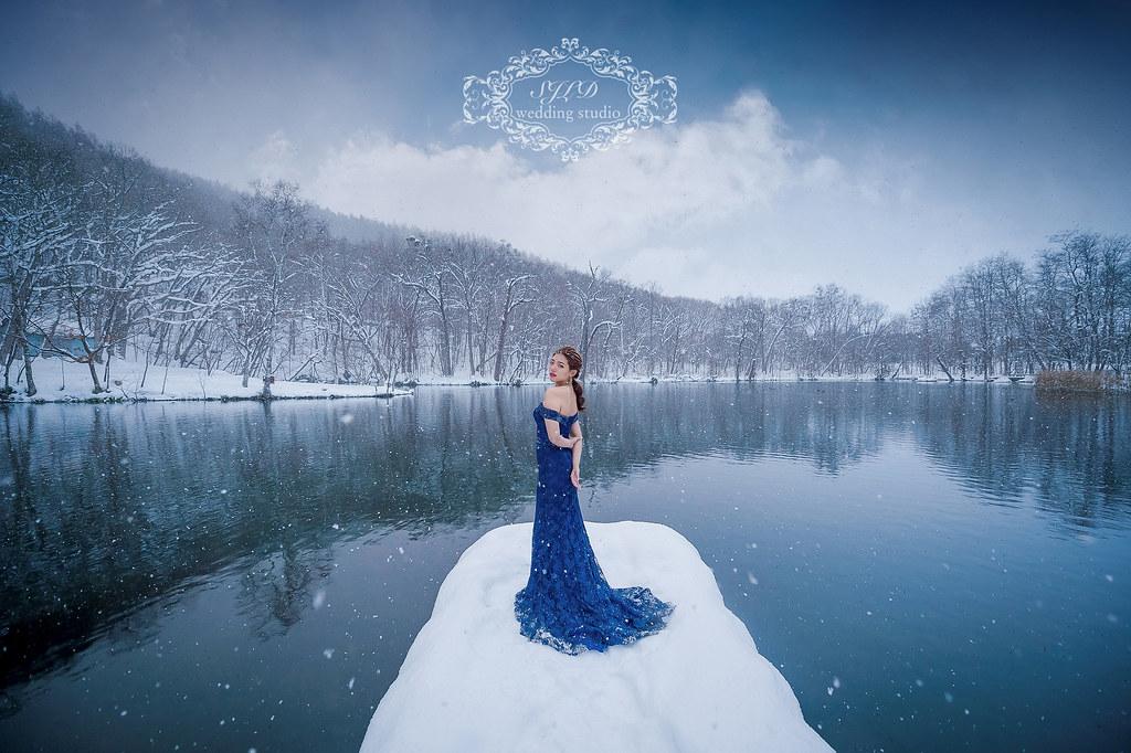 海外婚紗,北海道婚紗,富良野婚紗攝影,鳥沼公園婚紗拍攝,青池秘境IG景點