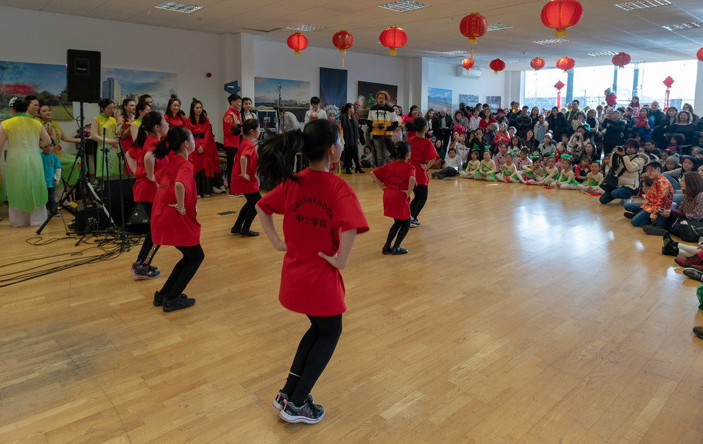 YEAR OF THE PIG - LUNAR NEW YEAR CELEBRATION AT THE CHQ IN DUBLIN [OFTEN REFERRED TO AS CHINESE NEW YEAR]-148937