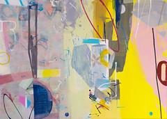Abstract painting. 50x70 cm. Canvas, acrylic (Natasha Davydova) Tags: art artwork acrylic painting picture canvas object line hardedge abstract abstraction geometric hard edge colorfield color field