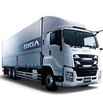 大型トラックの写真