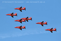 0135 7 ship R1 R2 R3 R4 R6 R7 R8 (photozone72) Tags: raf rafat redarrows reds redwhiteblue aviation aircraft jets hawk canon canon100400f4556lii canon7dmk2 7dmk2 scampton lincolnshire