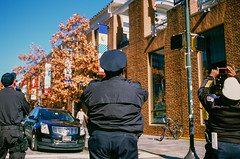 Philadelphia (bior) Tags: canoneos3 ef40mmf28stm provia provia100f fujifilmprovia 35mmfilm slidefilm philadelphia pennsylvania police street uniform