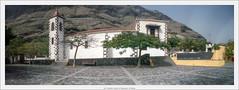 6x17 pinhole, church of Tazacorte, La Palma (Dierk Topp) Tags: 6x17 kodakportra400 realitysosubtle6×17 analog architecture canaryislands churches islascanarias lapalma pano panorama pinhole