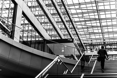 On the way to No 16 (Iso_Star) Tags: monochrome bw sony ilce7m3 tamron 2875mmf28 tamron2875mmf28 treppen stairs architektur gebäude building
