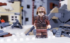 Hungarian Infantryman (brickhistorian) Tags: war world wars ww2 wwii two hungary barbarossa minifig minifigure fig lego legos brick bricks build building moc axis brickmania