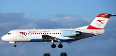 Fokker F-70 OE-LFH (707-348C) Tags: dublinairport dublin eidw airliner jetliner passemger fokkerf70 fokker fk70 oelfh austrian ireland austrianarrows 2011 dub f70 fokker70 f280700 aua