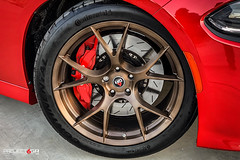 project-6gr-10-ten-satin-brushed-bronze-hellcat-charger-06 (PROJECT6GR_WHEELS) Tags: project 6gr 10ten wheels brushed bronze red hellcat charger dodge challenger satin rim rims