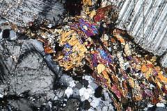 Métagabbro à hornblende (b.dussard25) Tags: microphotographie art macro canon mineral macrophotography abstract abstrait microphotography