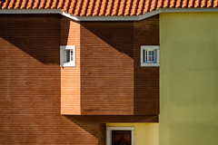 'Let's face it ... ' (Canadapt) Tags: house home window door shadow face roof tile sintra portugal canadapt