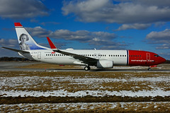 EI-FJY (Norwegian Air International) (Steelhead 2010) Tags: norwegian boeing b737 b737800 yhm eireg eifjy