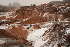 Red Rock Snow (arbyreed) Tags: arbyreed winter snow redrock sandstone goblinvalley emerycountyutah goblinvalleysnow cold
