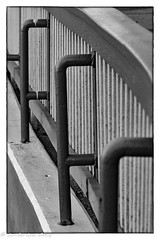 Supports (lorinleecary) Tags: morrobaystatepark lines naturalhistorymuseum monochrome supports railingdetail blackandwhite metal morrobay