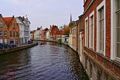 Bruges (Jurek.P2 - new account) Tags: brugia bruges belgia belgium europe kanał canal water city cityscape jurekp2 sonya500