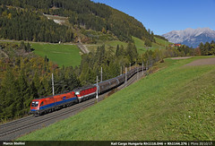RCH 1116.046 (Marco Stellini) Tags: rail cargo hungaria 1116 taurus siemens es64u2 brennero brenner carrier