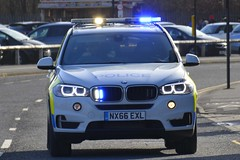 NX66 EXL (S11 AUN) Tags: cleveland police bmw x5 anpr armed response car arv traffic rpu roads policing unit 999 emergency vehicle nx66exl