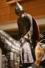 Turkish Heavy Cavalryman (15th Century) (Bri_J) Tags: royalarmouries leeds westyorkshire uk museum militarymuseum yorkshire nikon d7500 turkisharmour heavycavalryman armour mountedknight horsearmour archer