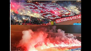 Pyro & Koreografija Delije Ultras | Crvena Zvezda vs Vojvodina 2019.02.16 | CZV 4:0 VOJ