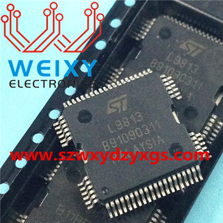 L9813 commonly used vulnerable chip for Automotive headlamp module