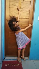 let the hair fly (ghostgirl_Annver) Tags: asia asian girl annver teen preteen child kid daughter sister family portrait hair blue