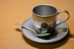 Aoyoshi 青芳製作所 Vintage DW Cup & Saucer 160ml (W!nG 7) Tags: aoyoshi 青芳製作所 vintage dw cup saucer 160ml coffee made mij japan fujiflim xt1 35mm14r snapshot