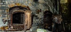 Forgottten (richardsolway) Tags: mining door doors kiln fire box rust rusty rusting old abandoned cornwall derelict stuck seized