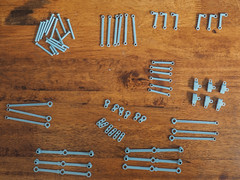 3D printed rods and valve gear (narrow_gauge) Tags: sclass spiritofprogress melbourne victorianrailways lego train streamlined railway steamlocomotive broadgauge australia