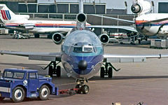 With a Little Help From My Friends (craigsanders429) Tags: 727 boeing727 dc10 unitedairlines easternairlines aircraft airlines airliners airports airplanes jets jetliners chicagoohareairport