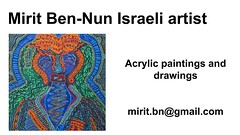 Mirit Ben-Nun a talented special woman acrylic  women art world (female art work) Tags: material borders rules by artist strong from language influence center art participates exhibition leading powerful model diferent special new world talented virtual gallery muse country outside solo group leader subject look vision image drawing museum painting paintings drawings colors colorfull sale woman women female feminine draw paint contemporary creative decorative figurative everybody studio facebook pinterest flicker virtualy galleries power exhibit classic original famous style israel israeli perfect mirit ben nun