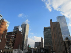 2019 March Evening Sky NYC 4226 (Brechtbug) Tags: 2019 march evening sky nyc virtual clock tower from hells kitchen clinton near times square broadway new york city midtown manhattan 03182019 stormy weather building no hanging cumulonimbus blue cumulus nimbus cloud fall hell s nemo southern view