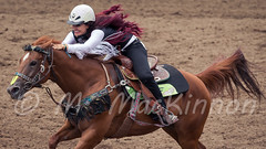 Calgary Stampede 2016 (tallhuskymike) Tags: calgary stampede event calgarystampede cowgirl horse 2016 rodeo outdoors greatestoutdoorshow prorodeo action alberta barrelracing