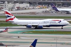 British Airways | Boeing 747-400 | G-BYGB | Los Angeles International (Dennis HKG) Tags: aircraft airplane airport plane planespotting oneworld canon 7d 100400 losangeles klax lax britishairways ba baw speedbird boeing 747 747400 boeing747 boeing747400 gbygb