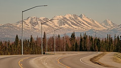 90/365 Road Trip (OhWowMan) Tags: 365the2019edition 3652019 day90365 31mar19 ohwowman nikon d3300 acdseepro9 alaska anchorage flattop mountains trees road roadtrip landscape scenic spring springtime springtimeinalaska chugach state park