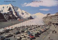 Postkarte / Österreich (micky the pixel) Tags: postkarte postcard ephemera österreich austria grosglocknerhochalpenstrase parkplatzfreiwandeck gebirge mountains alpen ostalpen glocknergruppe bundeslandkärnten