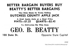 1934  apple jack  from George Beatty    188 state  (opened immediately after the end of Prohibition) (albany group archive) Tags: 1930s old albany ny vintage photos picture photo photograph history historic historical