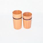 木製グラスの写真
