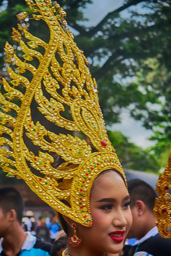 Golden hat  Chiang Mai