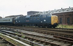 img007 (OldRailPics) Tags: lincoln central station railway locomotive deltic 55013 the black watch