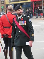 Bearded and sashed (jamica1) Tags: kelowna okanagan bc british columbia canada remembrance day november 11th parade rcmp grc royal canadian mounted police mounties