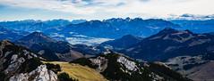 Alpenpanorama (Fliwatuet) Tags: alpen alps bayrischzell berge herbst hike mft microfourthirds mountains omdem10markii olympus wanderung wendelstein bayern deutschland