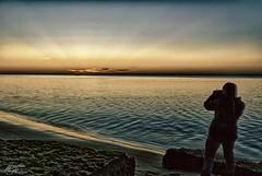 SciFi Sunset (Philippe Macabiau) Tags: hdr petitnice sablouney latestedebuch bassindarcachon sunset plage ocean atlantique gironde aquitaine
