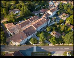 180708-0490-MAVICP-HDR.JPG (hopeless128) Tags: 2018 nanteuilenvallee buildings road trees france nanteuilenvallée nouvelleaquitaine fr