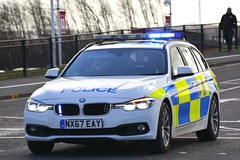 NX67 EAY (S11 AUN) Tags: cleveland police bmw 330d 3series touring anpr traffic car roads policing rpu 999 emergency vehicle nx67eay