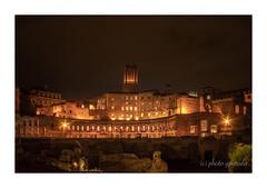 Foro di Traiano (gporada) Tags: foroditraiano roma cityofrome italy europe sonya7ii ilce7m2 trajansforum night canonfd2824mm wideangle longexposure