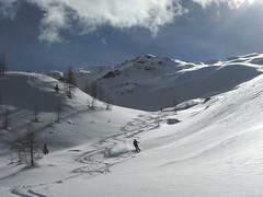Unsere Spuren (Globo Alpin) Tags: ahrntal winter skitouren weisenbach 2019