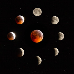 Blood Wolf Moon (Fotograf Mikael Jonsson) Tags: bloodmoon bloodwolfmoon mooneclipse astrophotography moon full blood